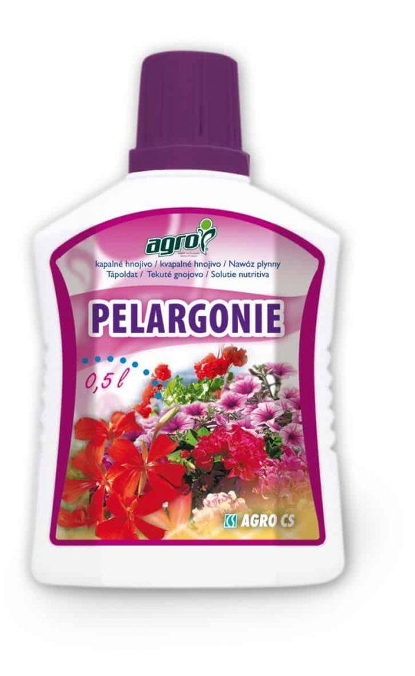AGRO Kvapalné hnojivo na pelargónie, begónie a iné balkónové kvety 500ml