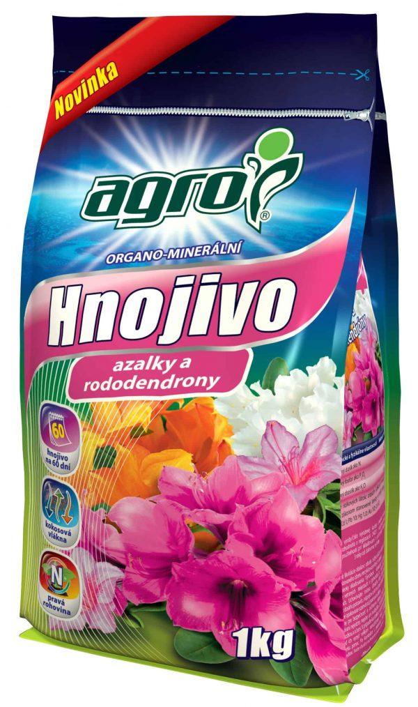 AGRO OM hnojivo na azalky a rododendróny 1kg