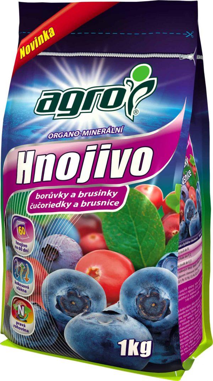 AGRO OM hnojivo na čučoriedky a brusnice 1kg