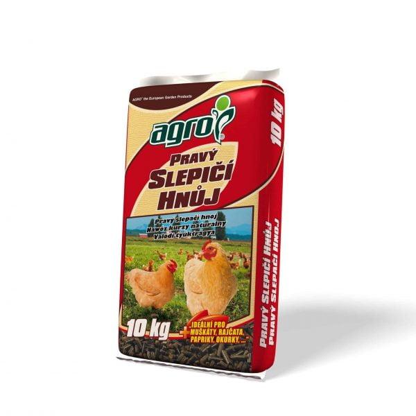 AGRO Pravý slepačí hnoj 10kg