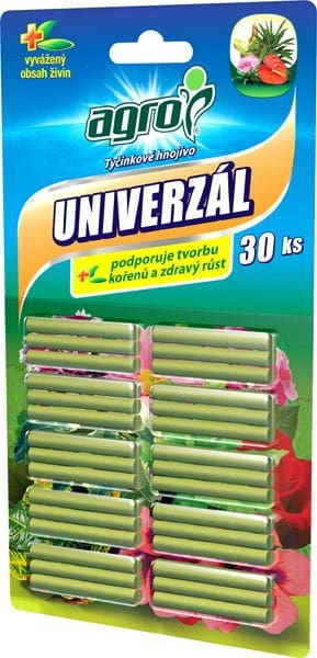 AGRO Tyčinkové hnojivo univerzálne 30ks