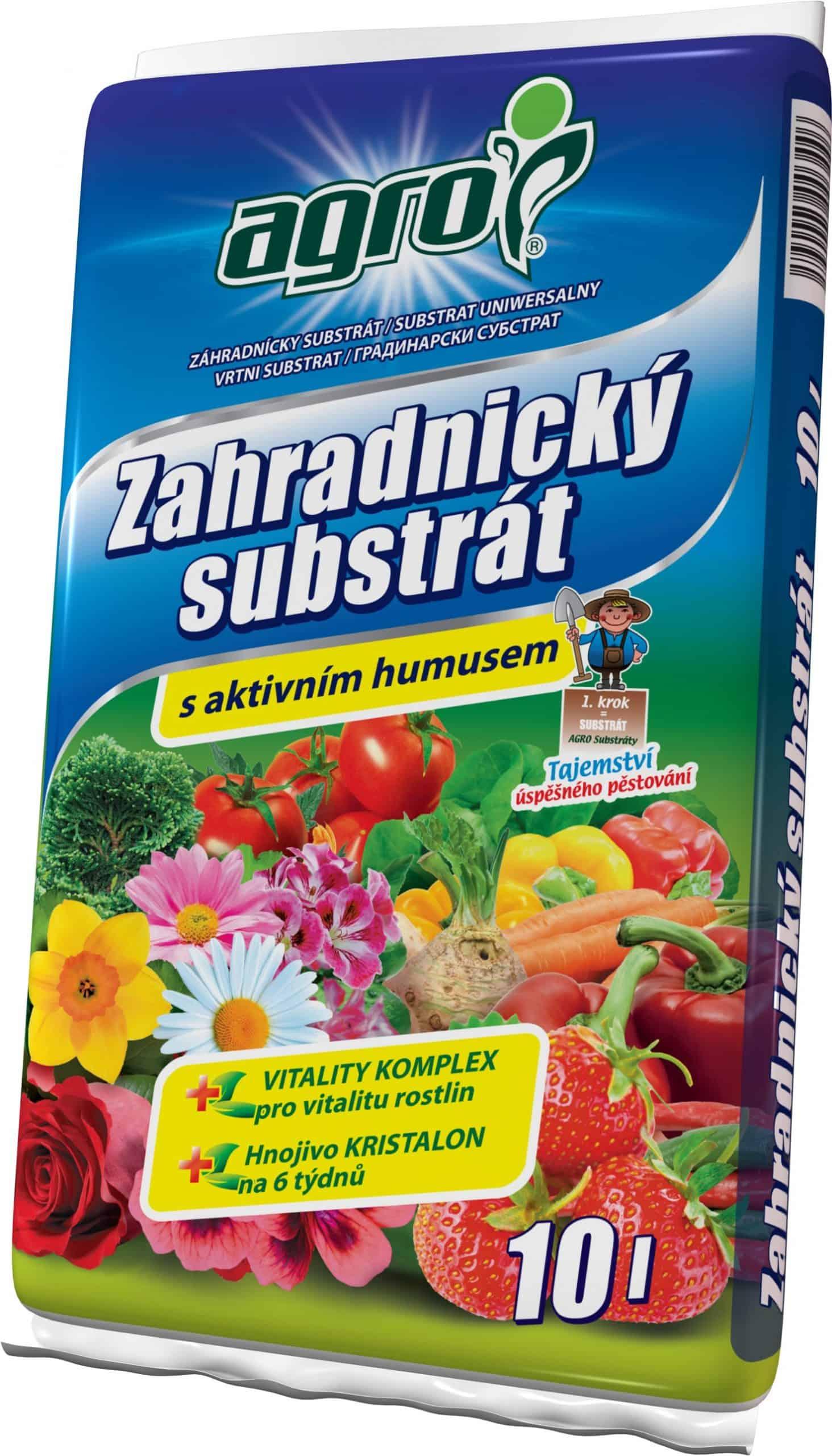 AGRO Záhradnícky substrát 10l