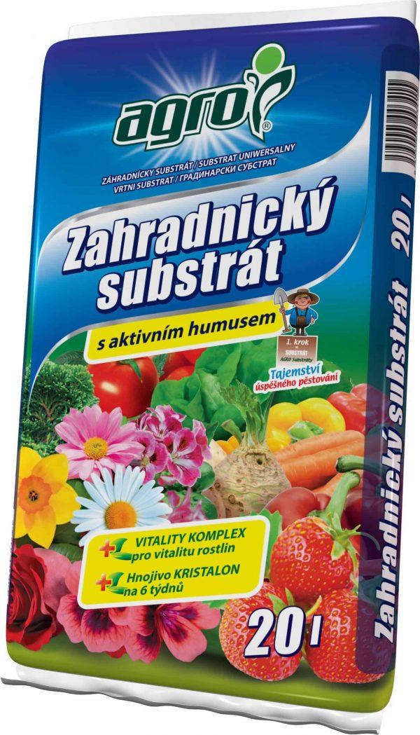 AGRO Záhradnícky substrát 20l
