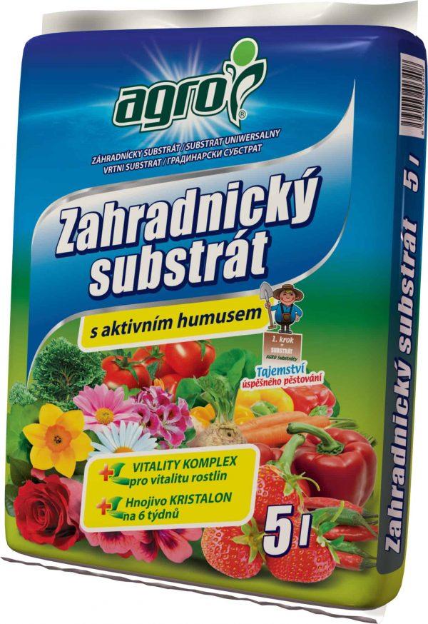 AGRO Záhradnícky substrát 5l
