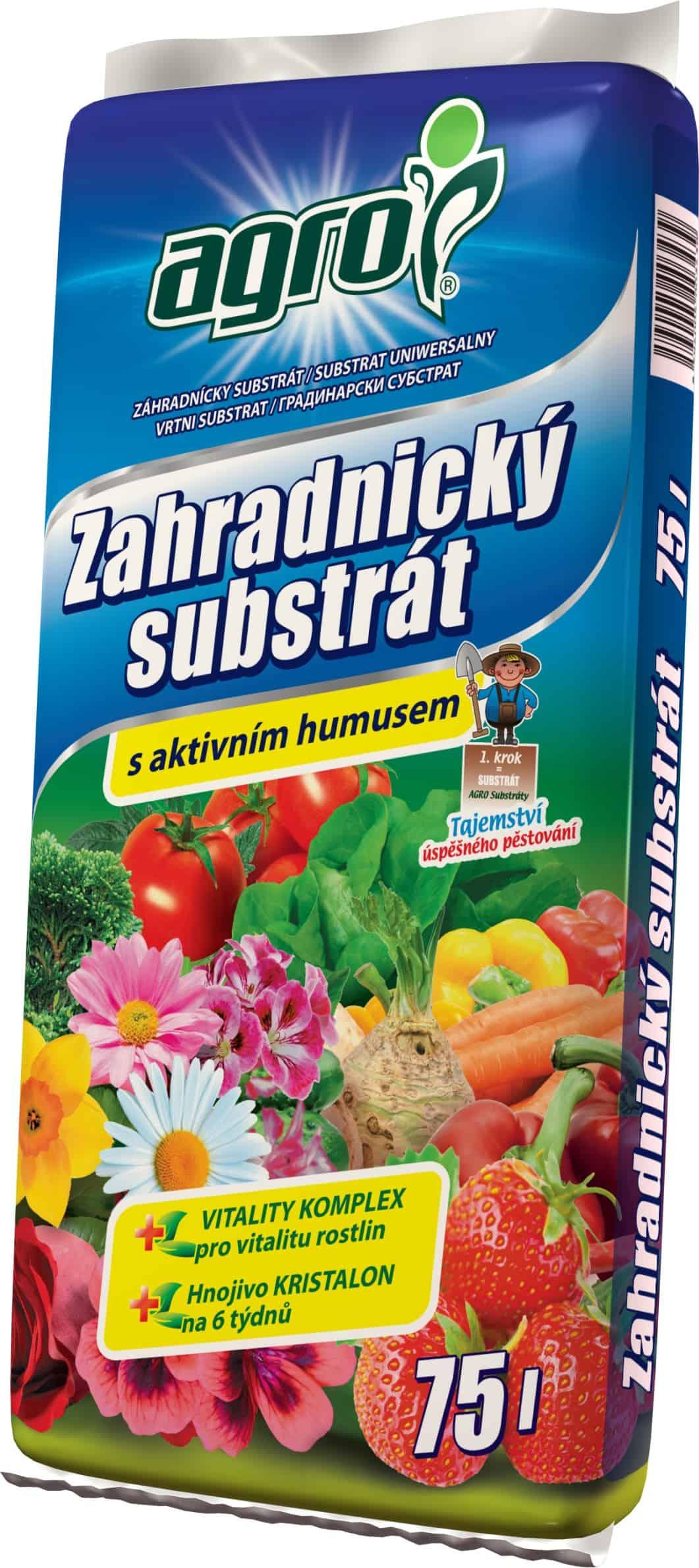 AGRO Záhradnícky substrát 75l