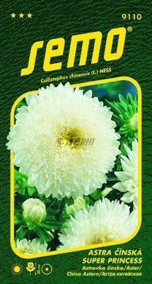 Astra čínska SUPER PRINCESS Biela 0,5g SEMO
