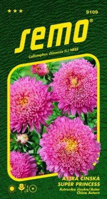 Astra čínska SUPER PRINCESS Ružová 0,5g SEMO