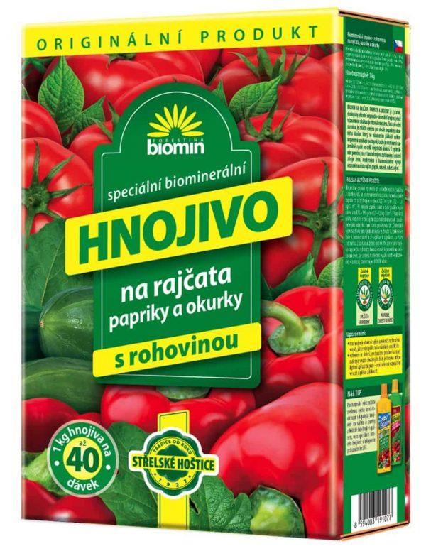Biomin na paradajky, papriky a uhorky 1kg