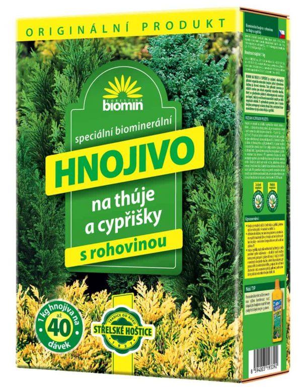 Biomin na tuje a cyprušteky 1kg