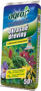 Substráty pre trávnik, okrasné dreviny a rastliny