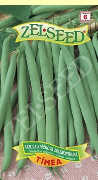 Fazuľa kríčková zelenostruká Tímea 38g Zelseed