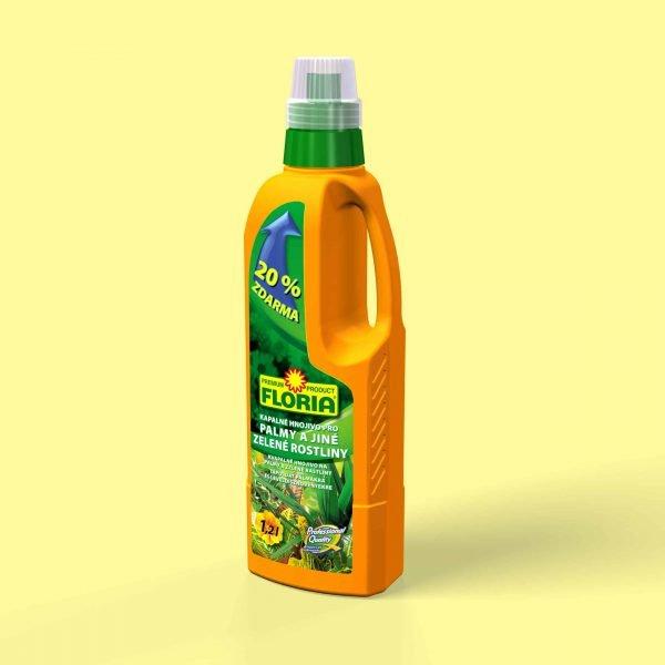 FLORIA Kvapalné hnojivo na palmy a iné zelené rastliny 1200ml