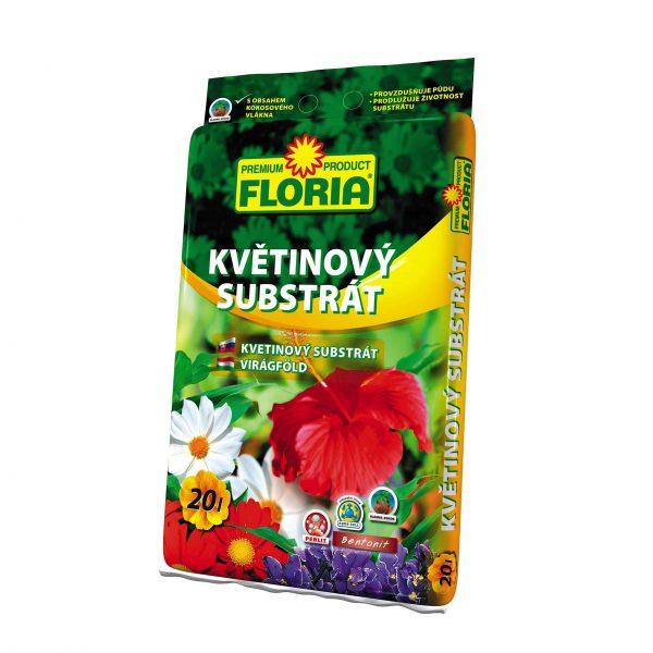 FLORIA Kvetinový substrát 20l