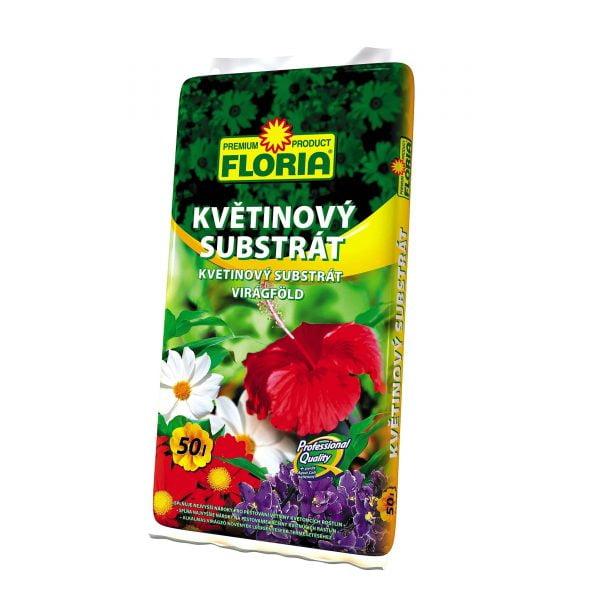FLORIA Kvetinový substrát 50l