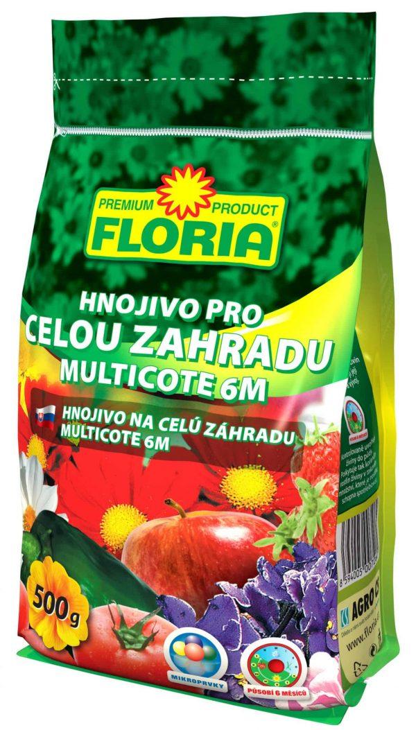 FLORIA Multicote 6M hnojivo na celú záhradu 500g