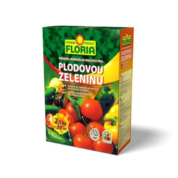 FLORIA OM hnojivo na plodovú zeleninu 2500g