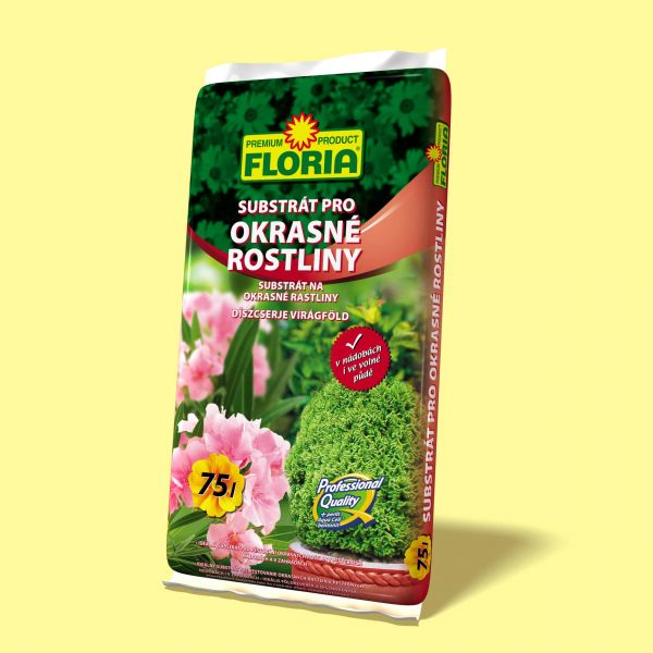 FLORIA Substrát na okrasné rastliny 75l