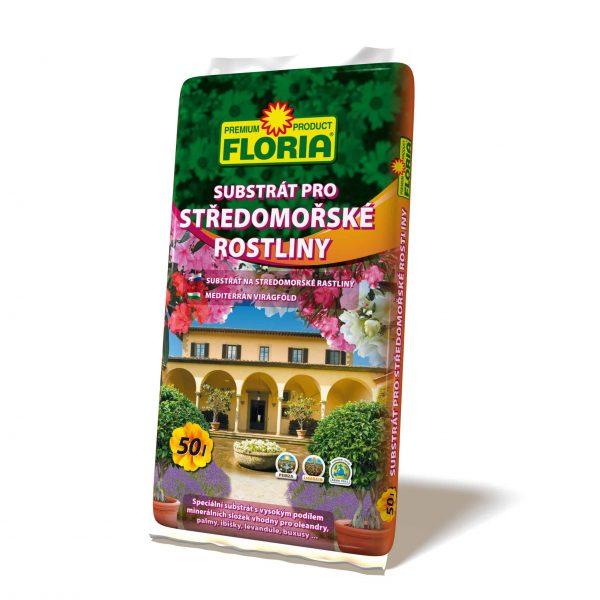 FLORIA Substrát na stredomorské rastliny 50l