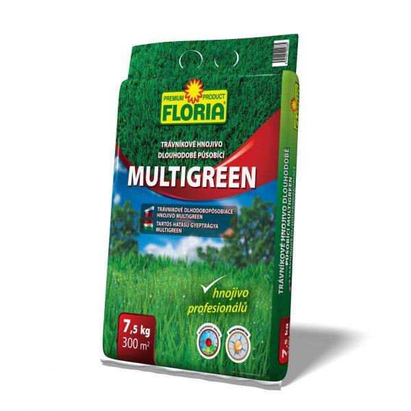 FLORIA Trávnikové hnojivo hnojím 1xročne 7,5kg