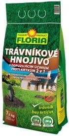 FLORIA Trávnikové hnojivo s odpudzujúcim účinkom proti krtom 7500g