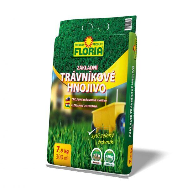 FLORIA Základné trávnikové hnojivo 7500g