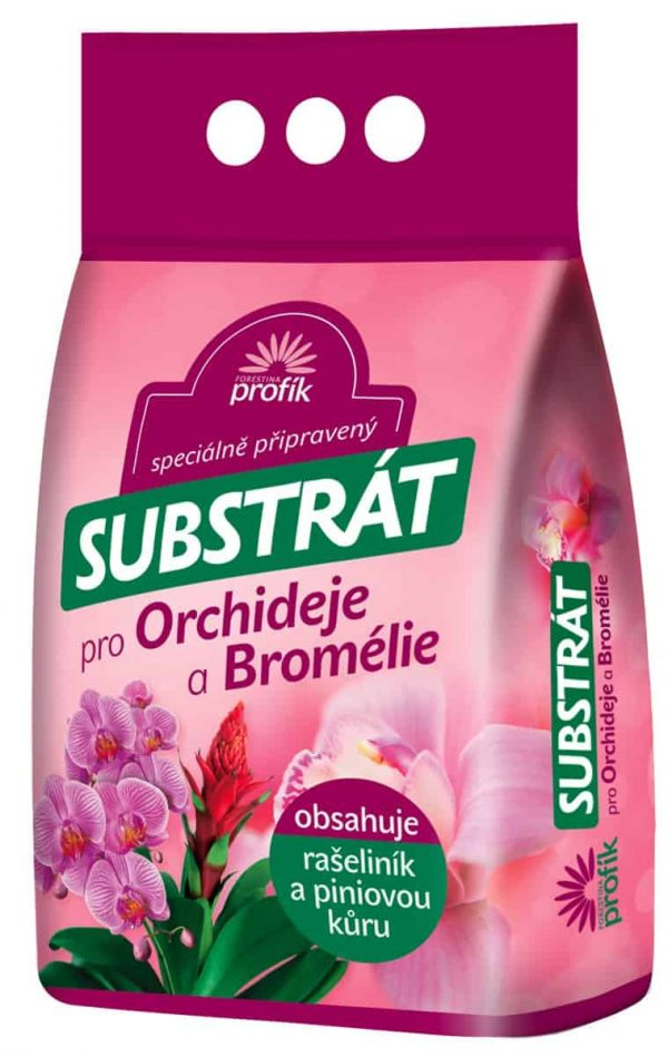 Forestina Substrát na orchidey a bromélie 5l