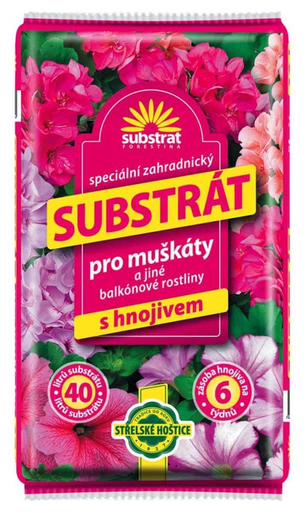 Forestina Substrát pre muškáty a balkónové rastliny 40l