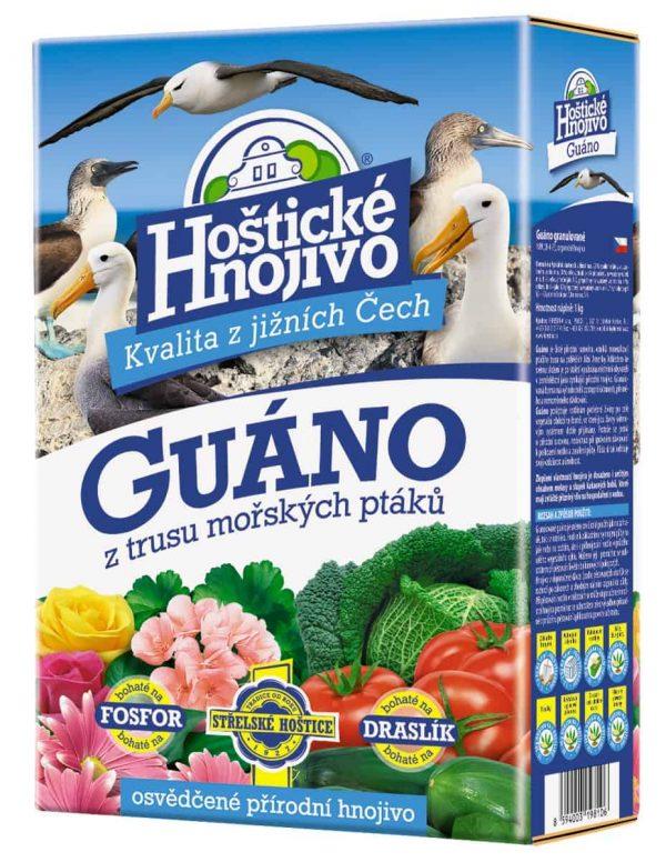 Hoštické Guáno granulované 1kg