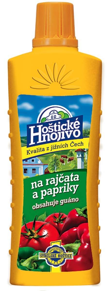 Hoštické hnojivo na paradajky a papriky 500ml