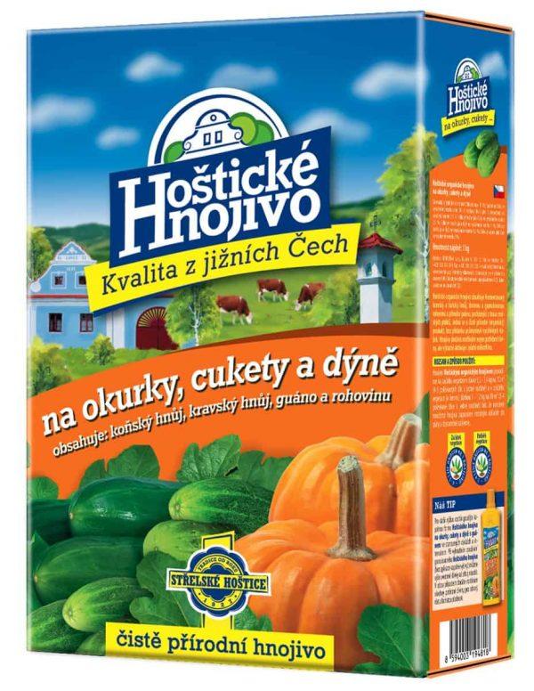 Hoštické hnojivo na uhorky, cukety a tekvice 1kg