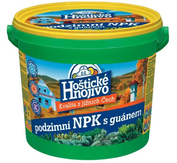 Hoštické jesenné NPK s guánom 4,5kg