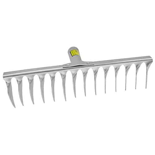 Hrable R108AWH na trávnik 16 zubové s násadou