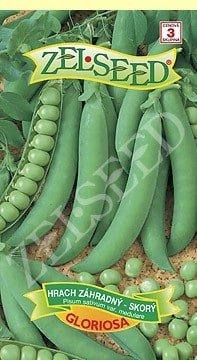 Hrach záhradný skorý Gloriosa 40g Zelseed