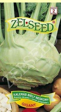 Kaleráb biely neskorý Gigant 0,8g Zelseed