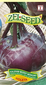Kaleráb modrý neskorý Violeta 0,8g Zelseed