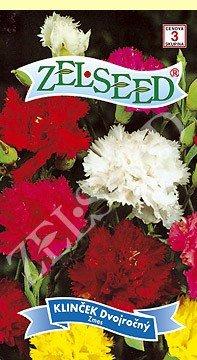 Klinček dvojročný záhradný zmes 0,4g Zelseed
