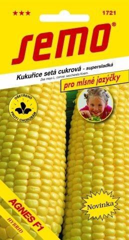 Kukurica cukrová AGNES F1  3g SEMO