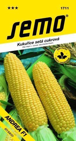 Kukurica cukrová ANDREA F1 5g SEMO