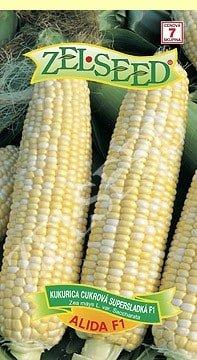 Kukurica cukrová supersladká Alida 18g veľmi skorá Zelseed