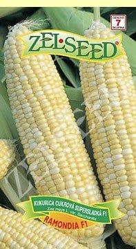 Kukurica cukrová supersladká Ramondia 18g stredne skorá Zelseed