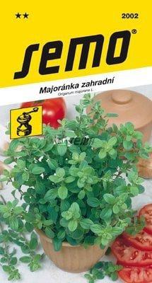 Majorán záhradný MARIETTA 0,35g SEMO