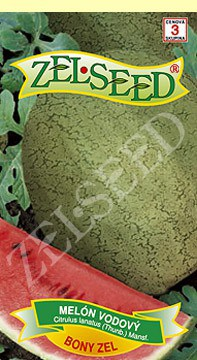 Melón vodový Bony zel 0,5g stredne neskorý Zelseed