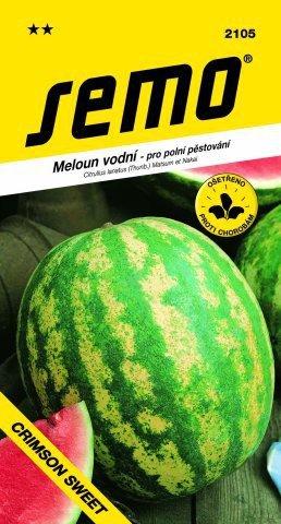 Melón vodový CRIMSON SWEET 0,6g SEMO