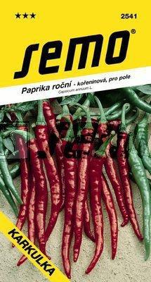 Paprika koreninová KARKULKA 0,6g SEMO