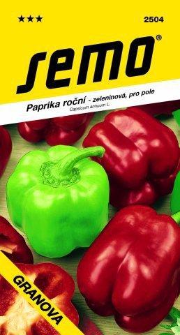 Paprika sladká GRANOVA 0,5g SEMO