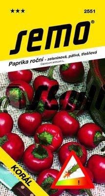 Paprika štipľavá KORÁL 0,6g SEMO