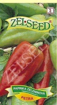 Paprika zeleninová skorá kápia Petra 0,7g Zelseed