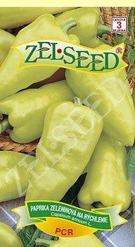 Paprika zeleninová skorá na rýchlenie PCR 0,7g Zelseed