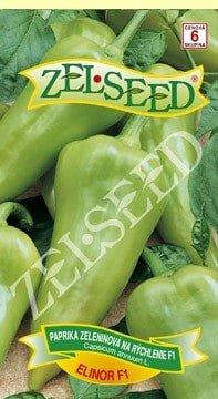 Paprika zeleninová sladká na rýchlenie Elinor F1  20s Zelseed