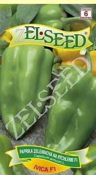 Paprika zeleninová sladká na rýchlenie Ivica F1  20s Zelseed